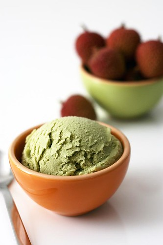 homemade matcha green tea icecream. | by Sean Gin Photography