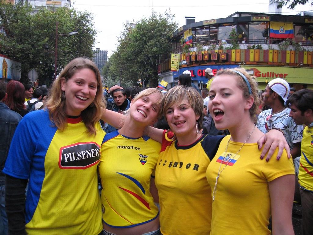 Equador girls