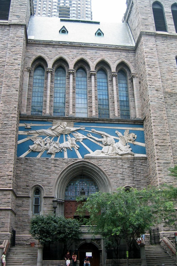 Nyc Church Of St Paul The Apostle The Church Of St