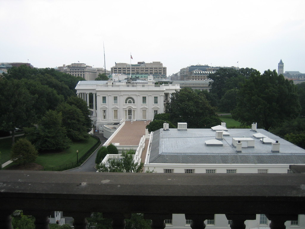 White House View From The Oeob A View Of The White House