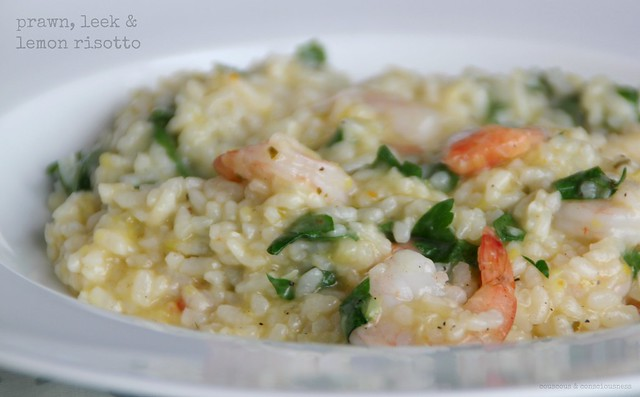 Prawn, Leek & Lemon Risotto 2