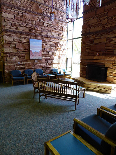 fireplace - Sedona Public Library