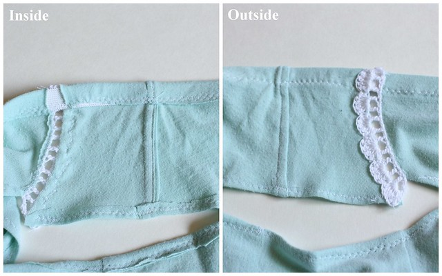 Handmade Mint Undies