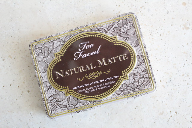 Too Faced Natural Matte Eye Palette review
