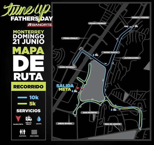 Tune Up Father's Day Monterrey 5K y 10K