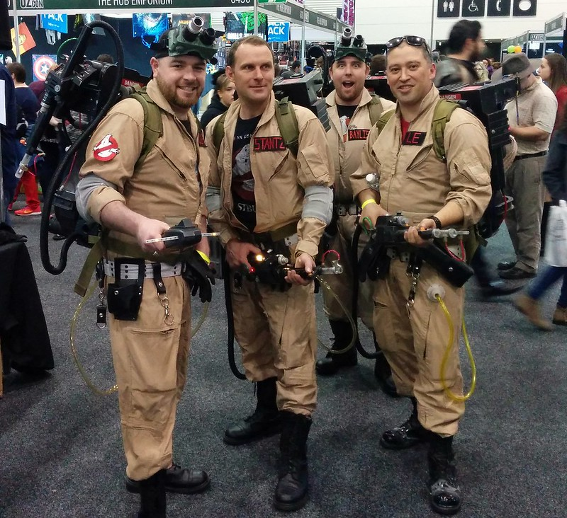OzComicon 2015: Who you gonna call?