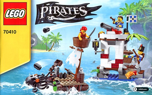 LEGO Pirates 70410 Soldiers Outpost ins02