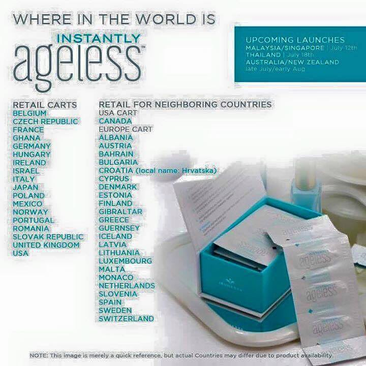 Instantly ageless free sample