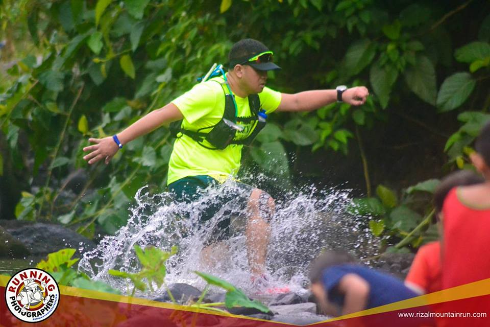 River Crossing at RIzal Mountain Run