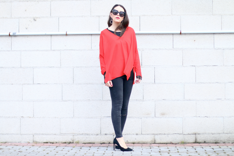 sweater-rojo-oversize