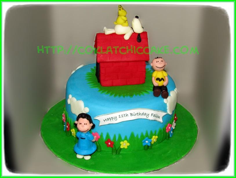 cake snoopy