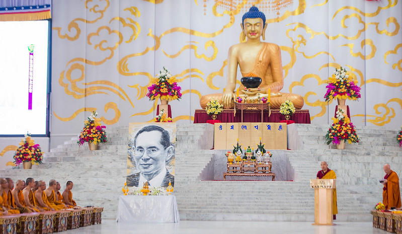 20170218PM_Memorial Service for His Majesty King Bhumibol Adulyadej,the late King of Thailand