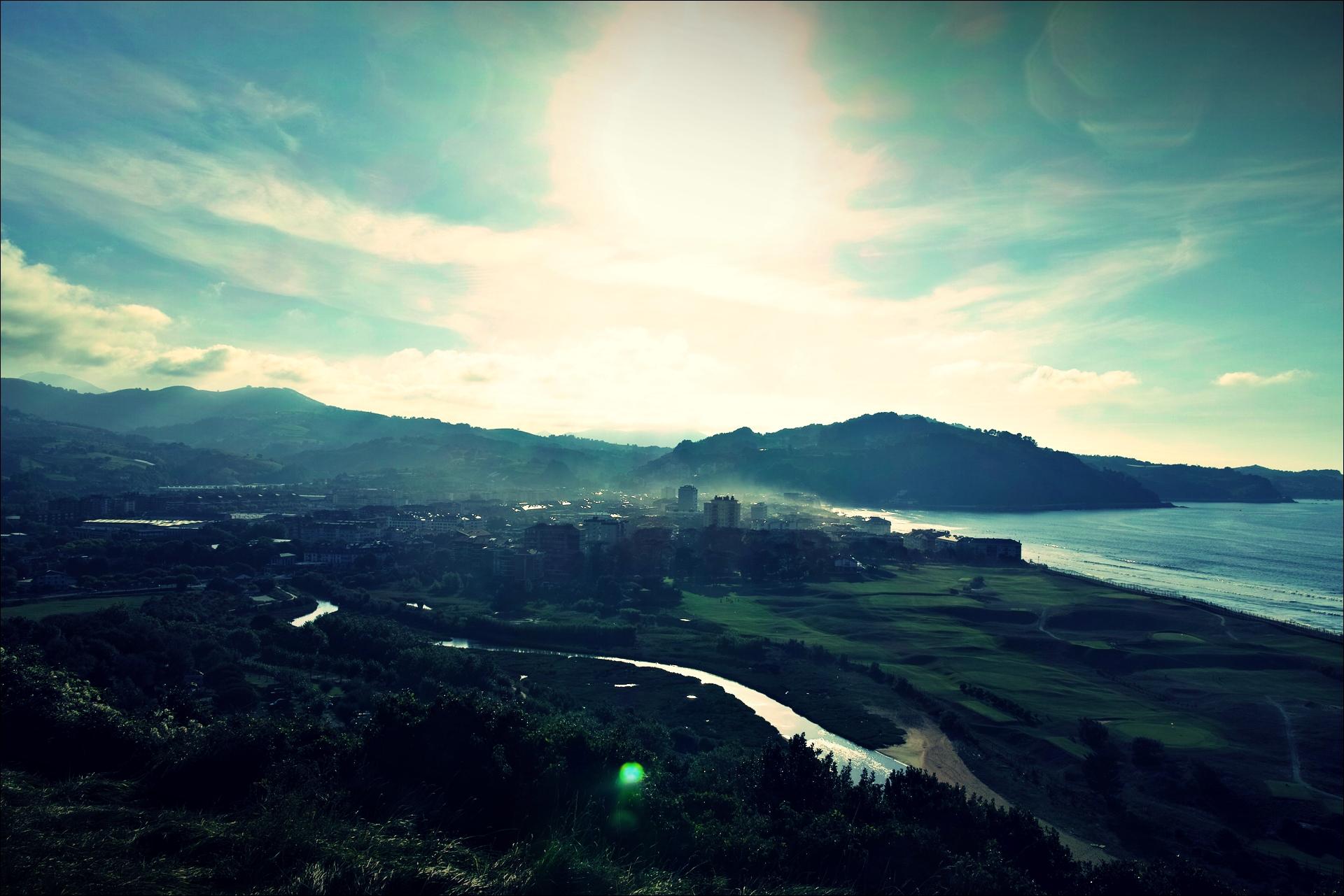 사라우츠-'카미노 데 산티아고 북쪽길. 산 세바스티안에서 사라우츠. (Camino del Norte - San Sebastian to Zarauz)'