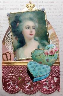 Marie Antoinette Gothic Arch ATC | by Donetta's Beaded Treasures