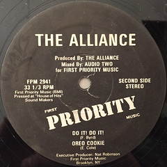 THE ALLIANCE:ALLIANCE BUSTIN LOOSE(LABEL SIDE-B)