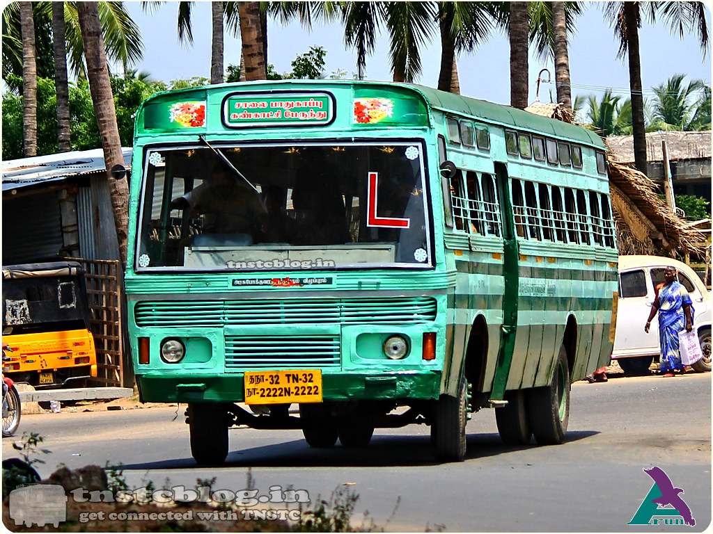 TN-32N-2222 Cuddalore Region Learner Bus