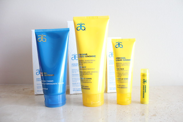 Arbonne's Liquid Sunshine