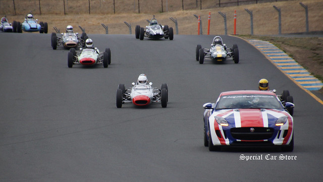 Vintage Racing at Sonoma Historic Motorsports Festival