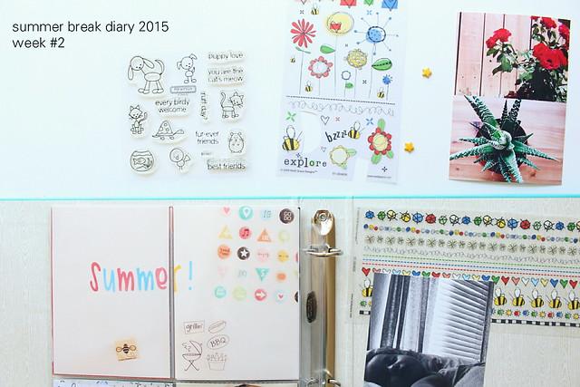 summer break diary 2015: week # 2