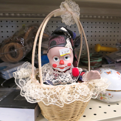 basket of clown