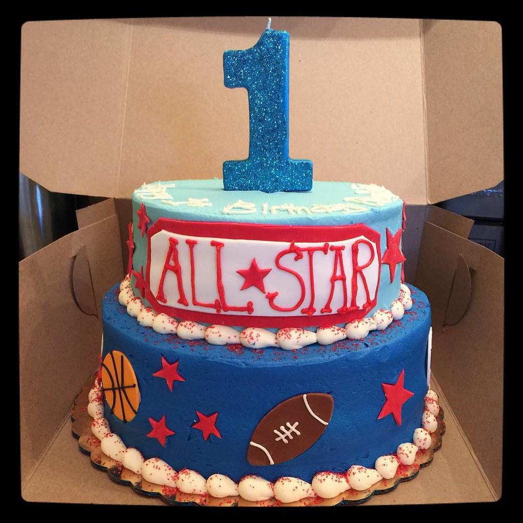 An All Star Birthday Cake Flour  Sun Flickr - All star birthday cake