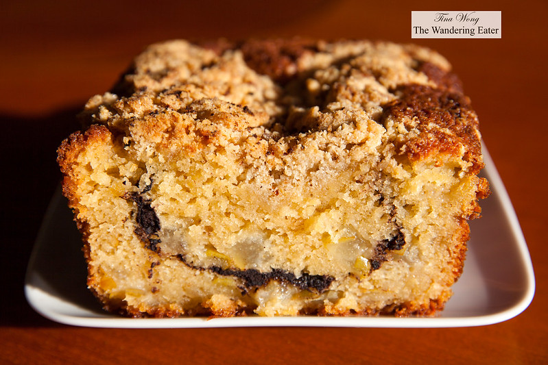Homemade Pear Coffee Cake