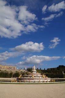 127 Kasteel van Versailles tuinen