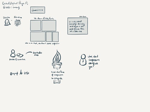 #sketchnote @wezlo preaching at Central Baptist Church Riverton-Palmyra #madewithpaper | by ARJWright