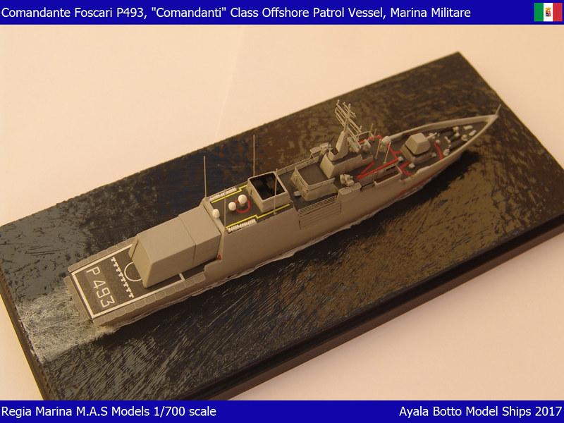Foscari P493, Patrouilleur de la Classe Cigala Fulgosi 1/700 31873556012_c89baa4b45_c