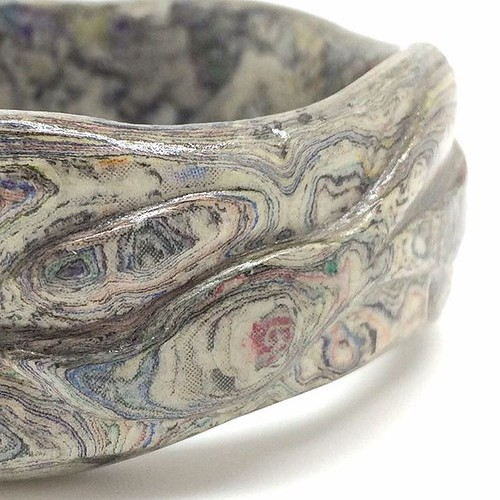 Carved Paper Bangle - Dani Crompton Designs