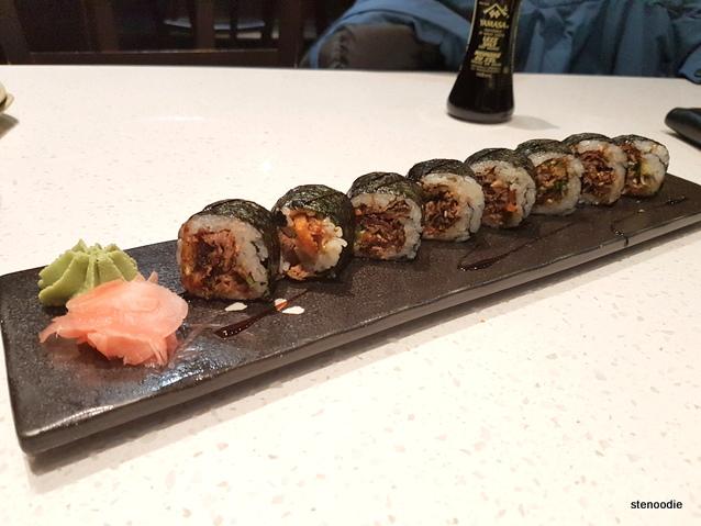 Fried Salmon Skin Roll