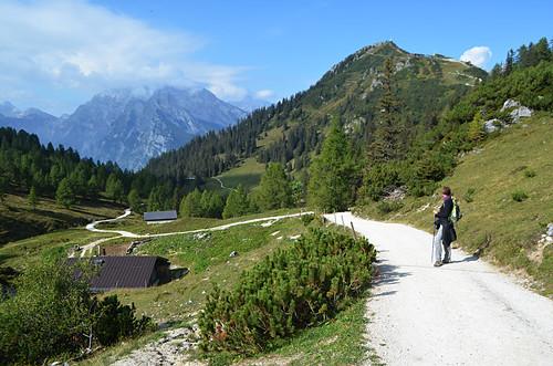 Walking in Jenner, Berchtesgaden, Bavaria