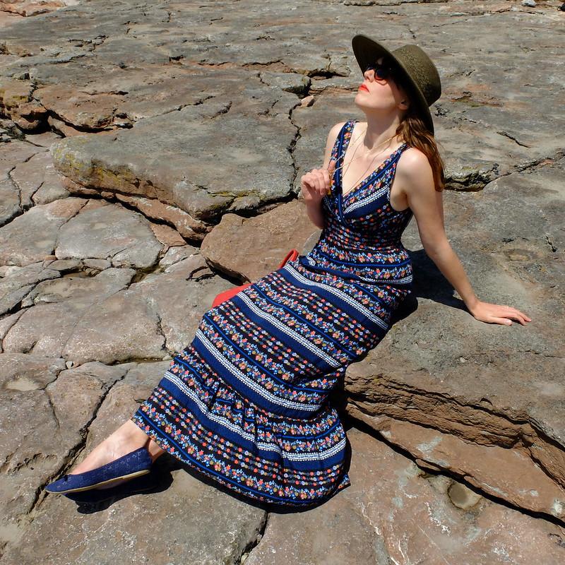 Folk Maxi Dress