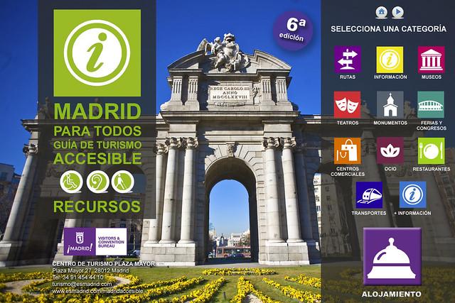 turismo acessível em Madri