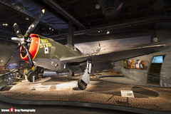 NX14519 42-8205 Big Stud - 345 - USAAF - Republic P-47D Thunderbolt - The Museum Of Flight - Seattle, Washington - 131021 - Steven Gray - IMG_3712