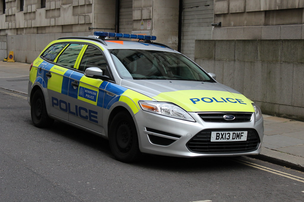 Ford Mondeo 2015 White >> Metropolitan Police: Ford Mondeo Estate Dog Unit | A lovely … | Flickr