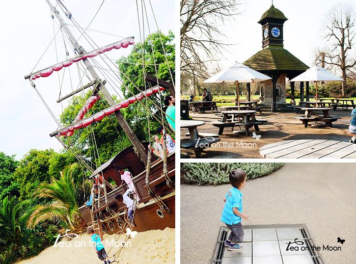 Londres con niños. Parques