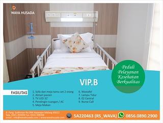 gambar ruang VIP B RS Wava Husada