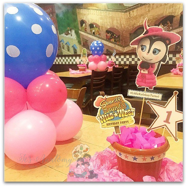 sheriff callie's wild west table centerpiece (2)