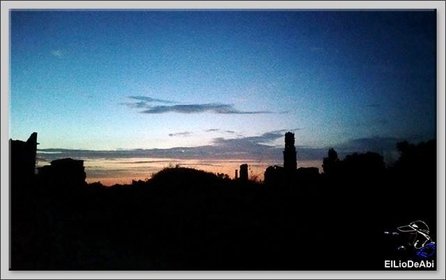Que ver en Belchite viejo de día y de noche 15