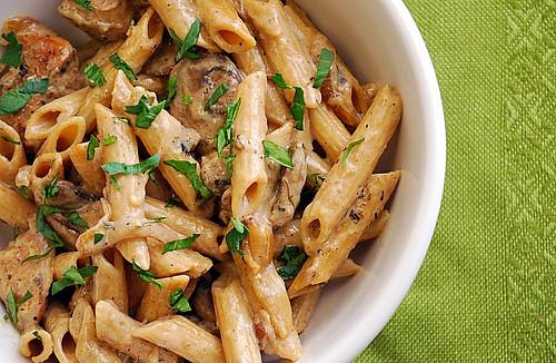 Instant Pot: Creamy Chicken Marsala Pasta