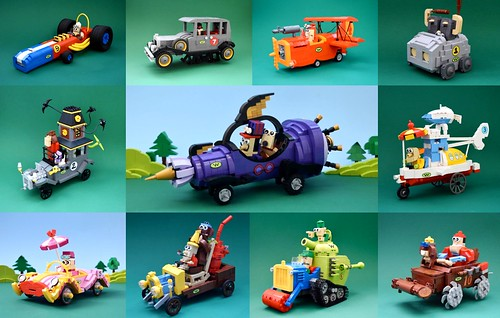 Wacky Races Build Interview By Clinton Matos Group Shot