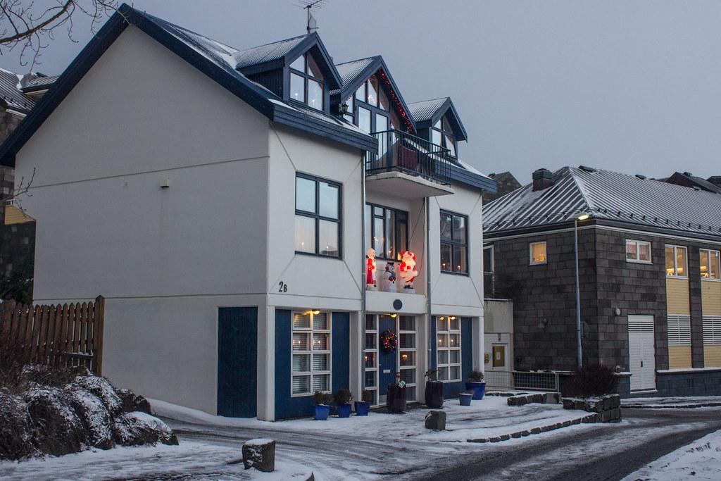 Houses in Reykjavik