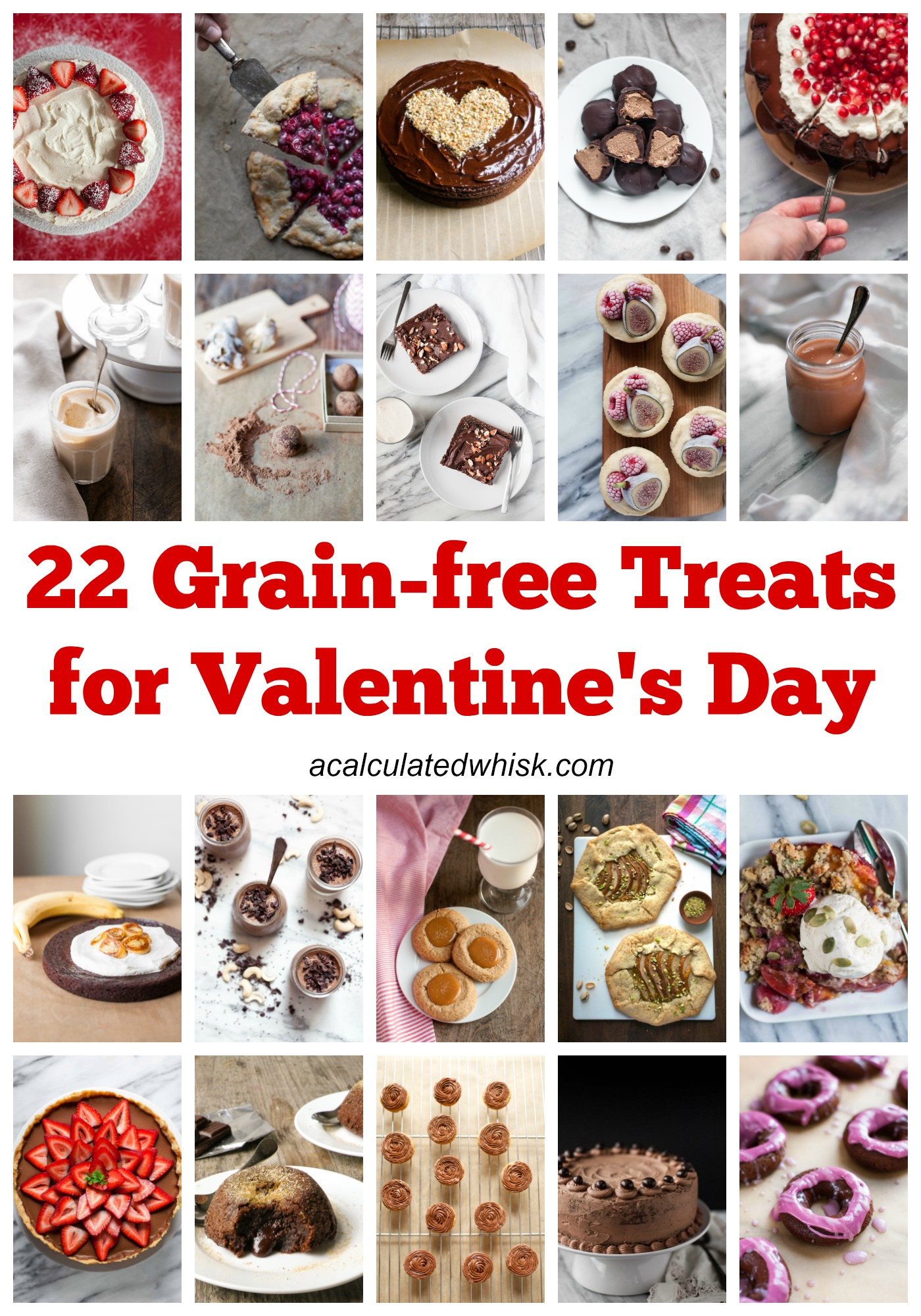 22 Grain-free Treats for Valentine's Day