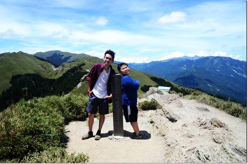 合歡尖山山頂 2