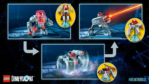 LEGO Dimensions DC Comics Cyborg Fun Pack (71210)