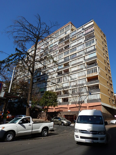 Building of Flats in Hillbrow