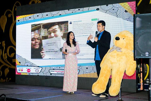 Ungku Ismail Aziz Pencetus Kempen Travelling Beruang