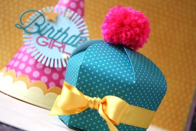 PTI-Cupcake Box die
