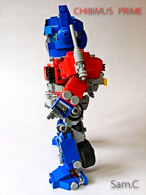 LEGO Transformers: Chibimus Prime- Side